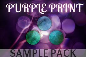 Purple print