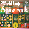World loop spice rack